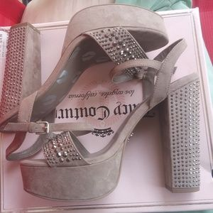 """💋NEW 💋 JUICY 💋 COUTURE 💋 6"""" HEELS SIZE 10💋"""